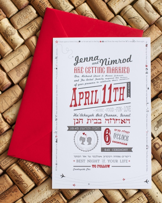 Red Theme Invitation