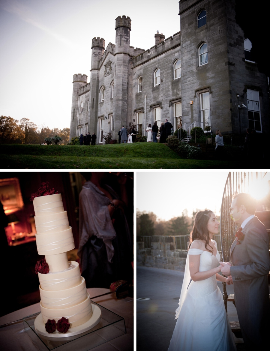 SCOTTISH CASTLE JEWISH WEDDING C