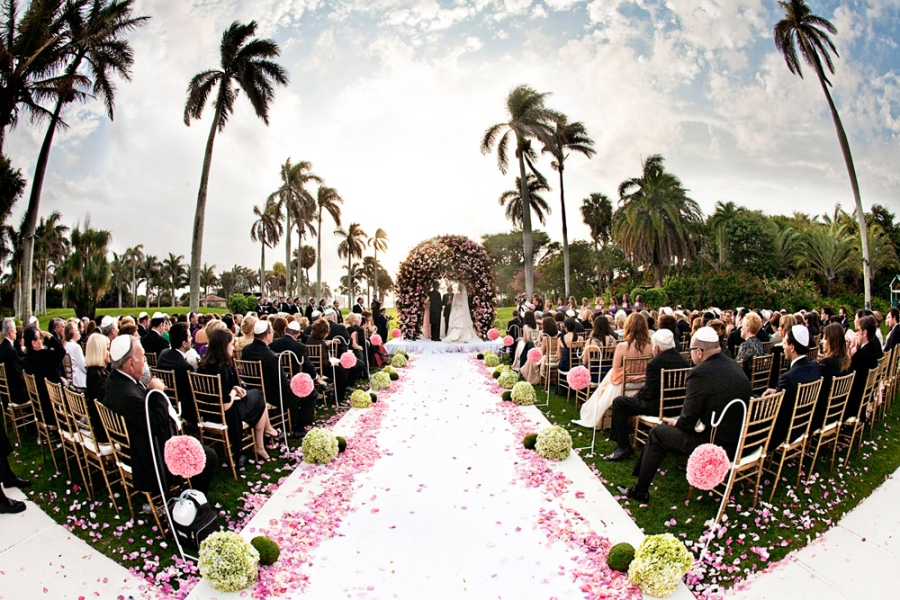 JEWISH WEDDING PALM BEACH FLORIDA 59