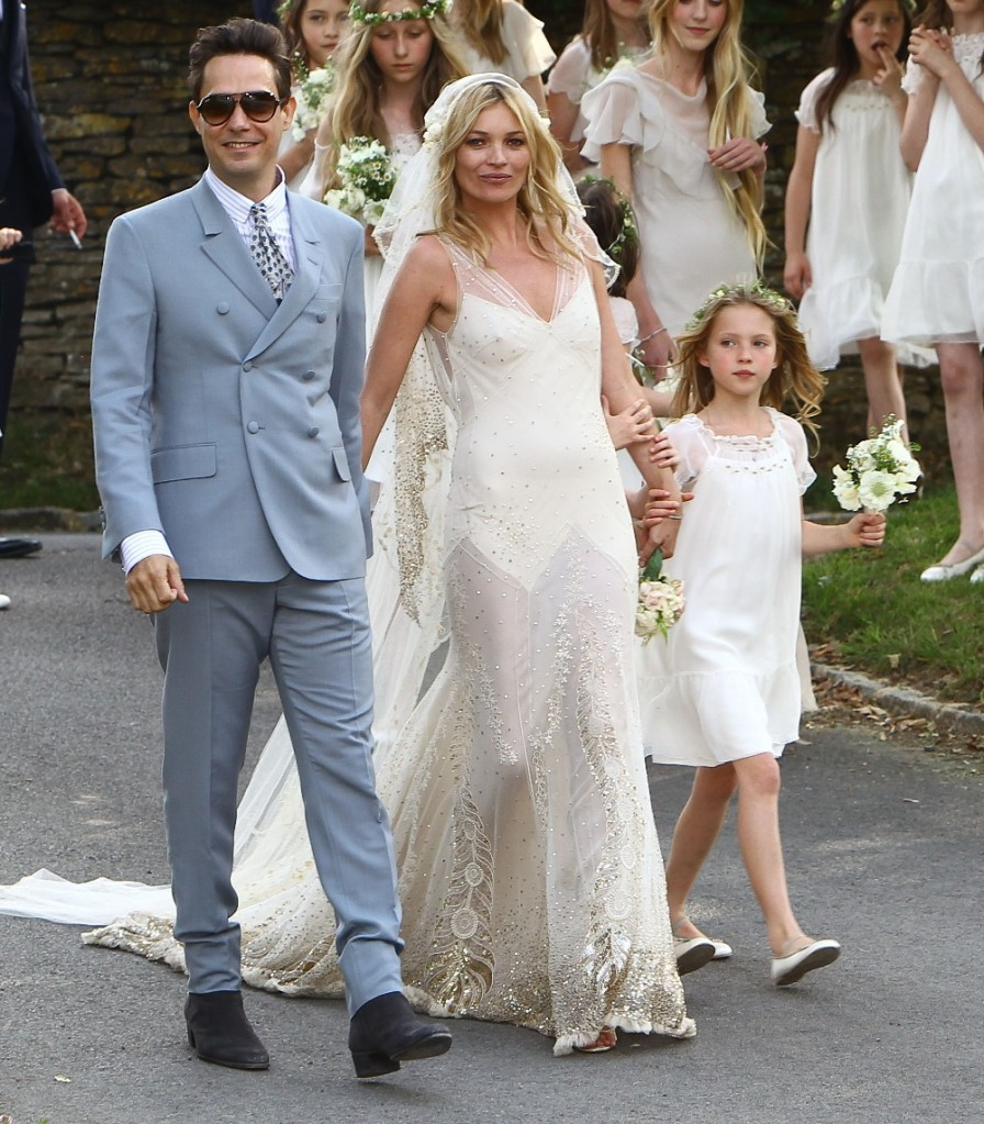 Kate Moss Wedding John Galliano