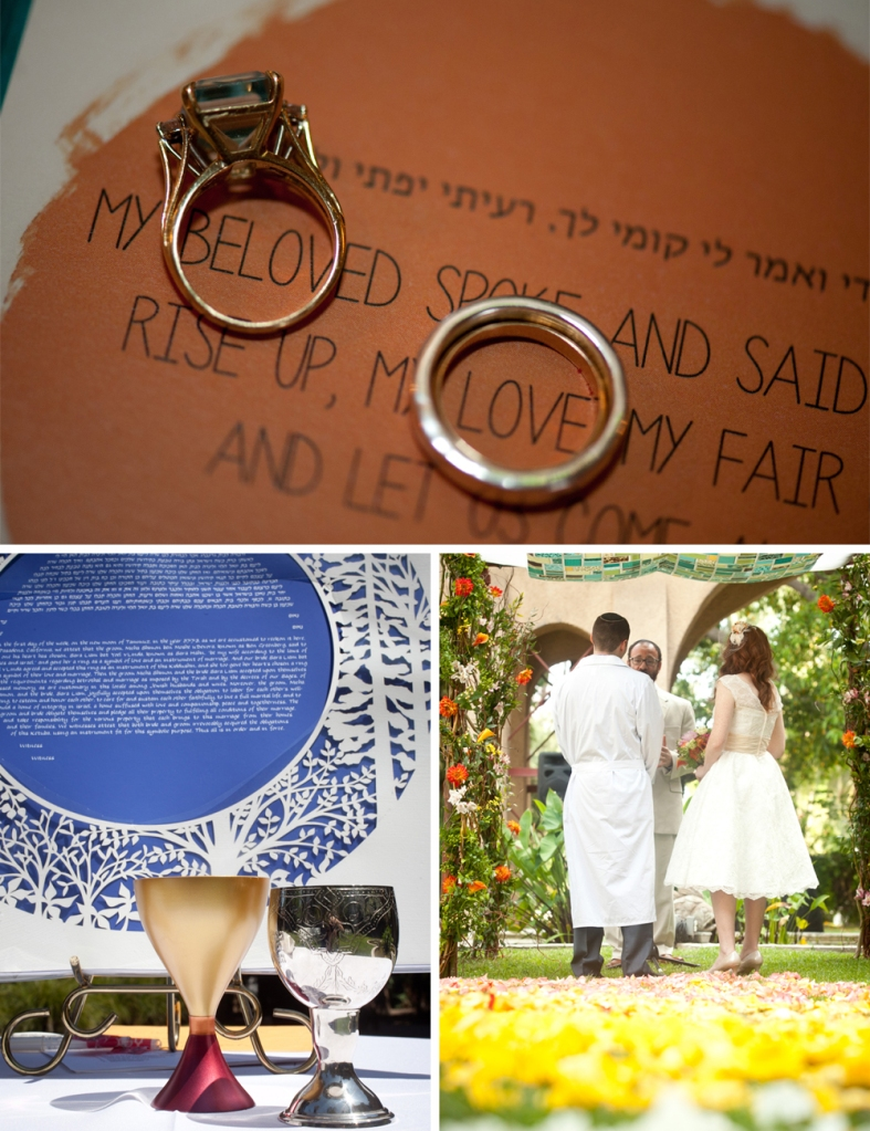 PASADENA JEWISH WEDDING A