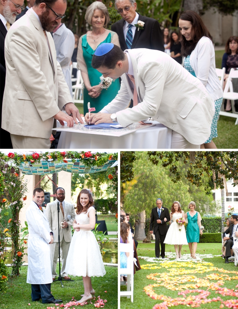 PASADENA JEWISH WEDDING F