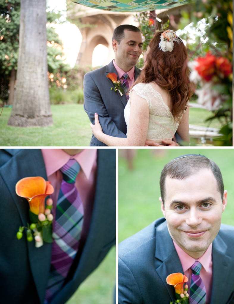 PASADENA JEWISH WEDDING GROOM