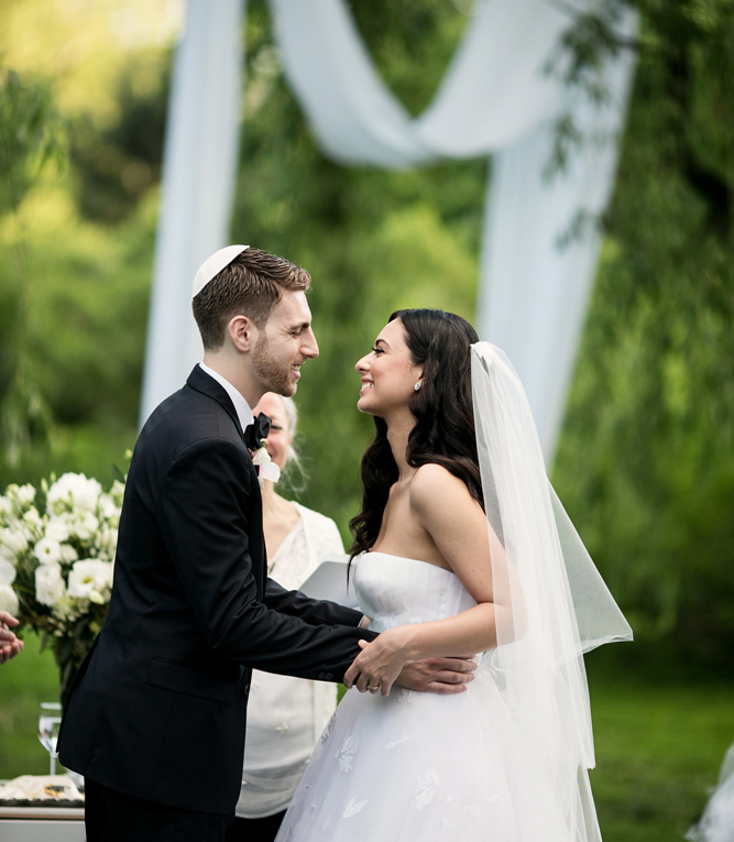 Jewish Greek Wedding at Brooklyn Botanical Garden New York INTRO