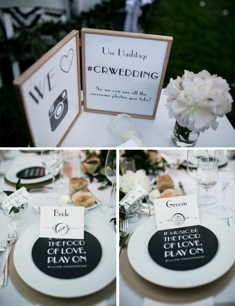 Jewish Greek Wedding at Brooklyn Botanical Garden New York signage