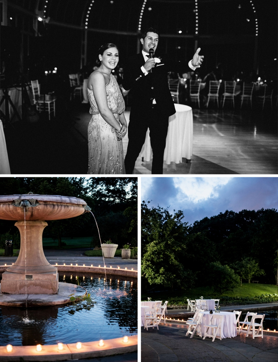 Jewish Greek Wedding at Brooklyn Botanical Garden New York The Palm House 2