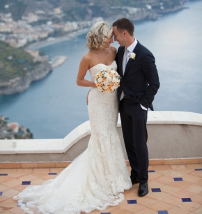 Mishie & Misha | Spectacular Destination Jewish wedding at Villa Eva, Amalfi Coast, Italy