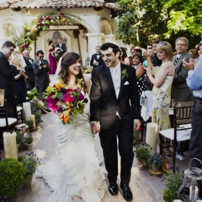 Candace & Asher | Super-stylish 'shabby chic' Jewish wedding, Rancho Las Lomas, USA